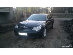 Отзыв Chrysler Sebring 2007