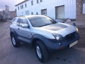 Отзыв Isuzu Vehi Cross 1998