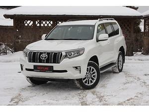 Отзыв Toyota Land Cruiser Prado 2017