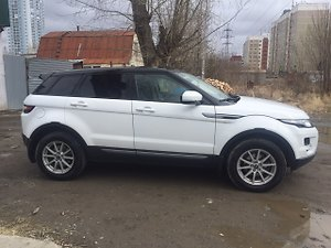 Отзыв Land Rover Evoque 2012