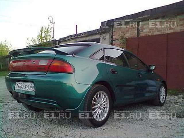 Mazda 323 1995 Р Схема