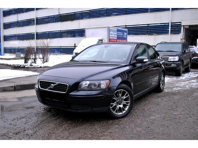 Volvo s40 black фото