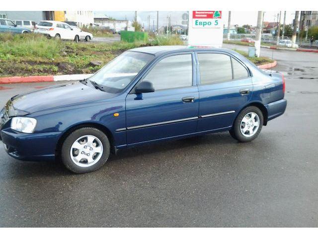 Hyundai accent челябинск фото