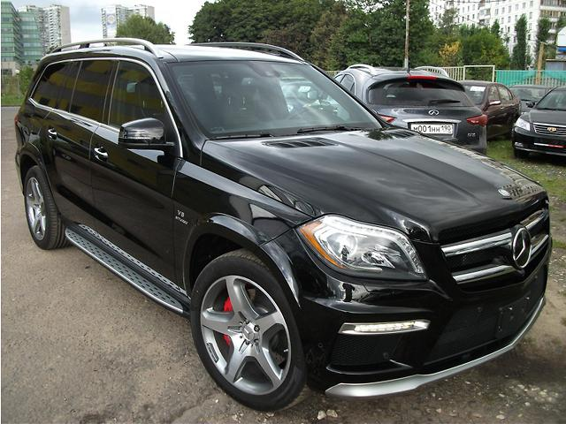 Mercedes-Benz GL-класс  Москва 2013 1